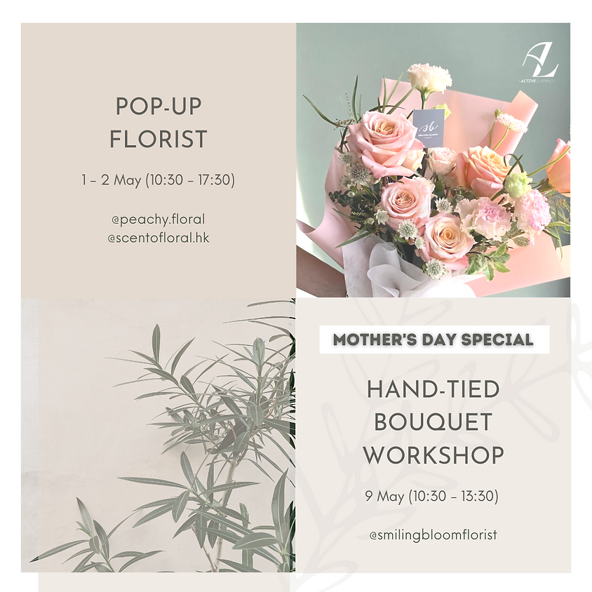 Mother's Day Hand-tied Bouquet Workshop