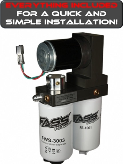 FASS 165 Fuel Pump 2011-2014