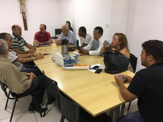 Diretores do STIM se reúnem com vereadores de SD