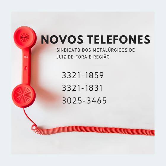 NOVOS TELEFONES