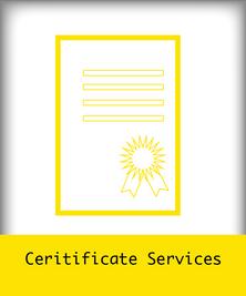 Ceritificate Services