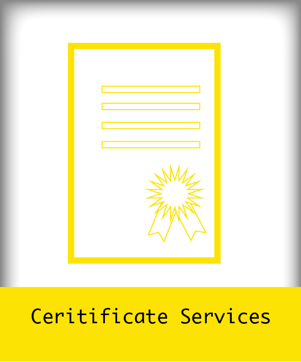 Ceritificate Services