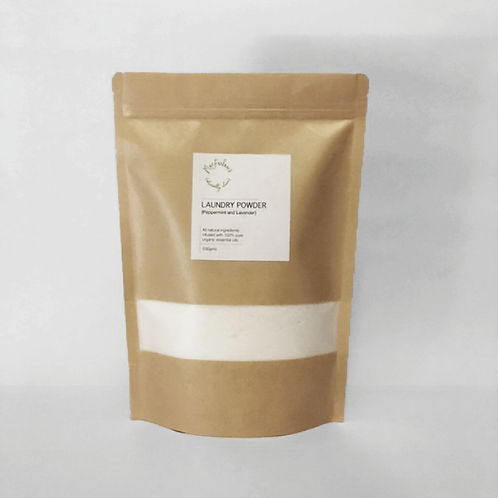 Laundry powder - Peppermint and Lavender 500gms