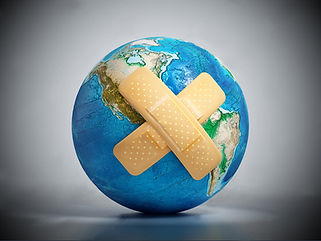 stock-photo-crossed-band-aids-on-earth-m