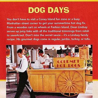 Hot Dogs-Gourmet Hot Dogs Newport Beach
