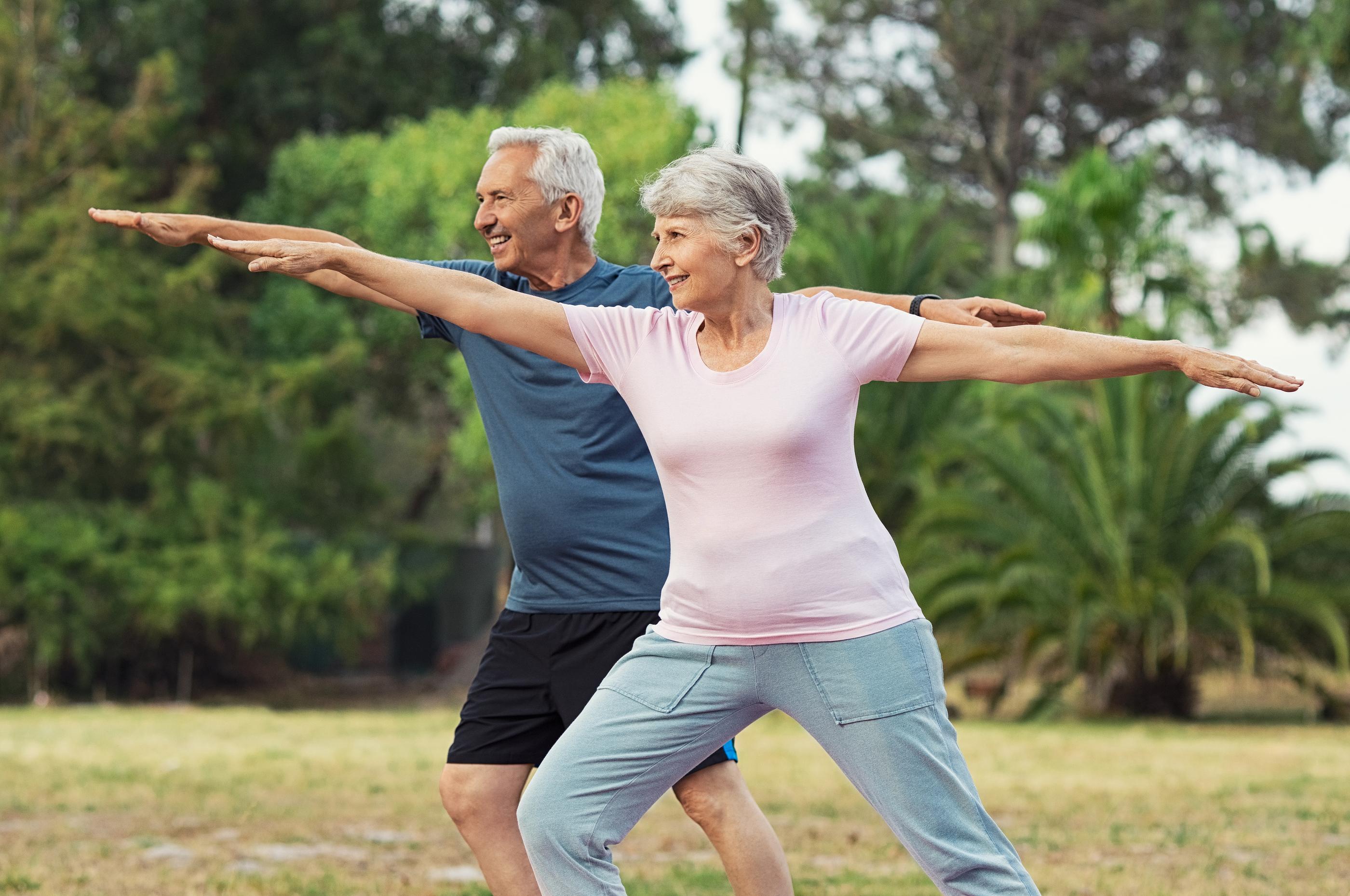 bigstock-Senior-couple-doing-sport-and--