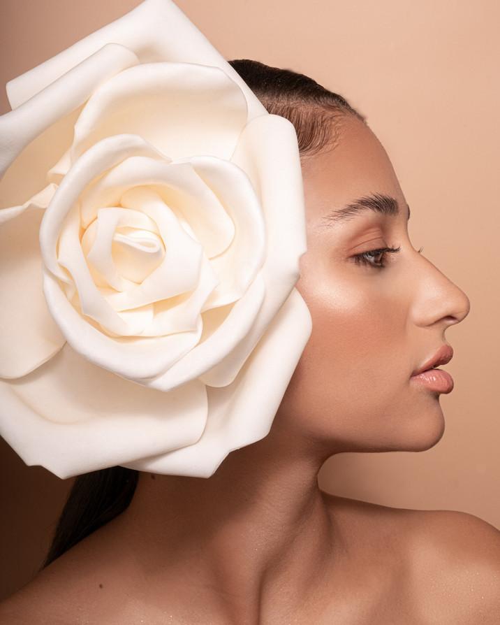 Makeup: Karla Cruz Model: Alexis Llewellyn Hair: Haley Stuart Photographer: Maryna Yazbeck