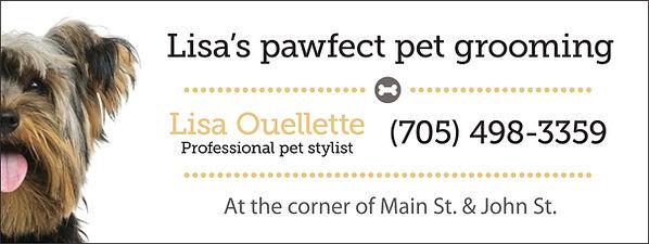 Sponsor - Lisa's Pawfect Pet Grooming.jp