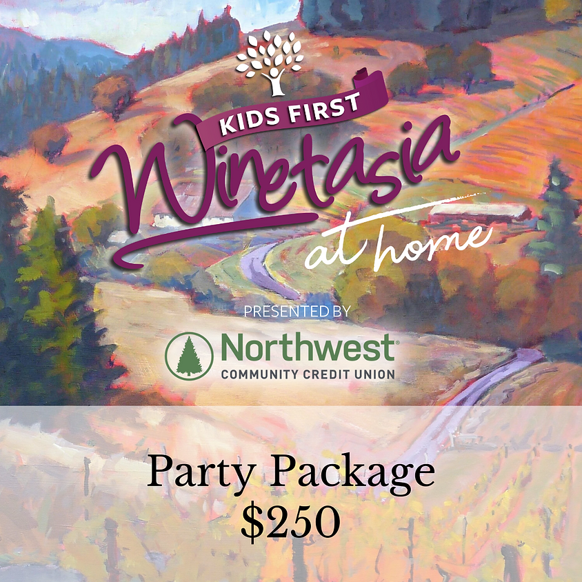 Party Package - KF Winetasia at Home