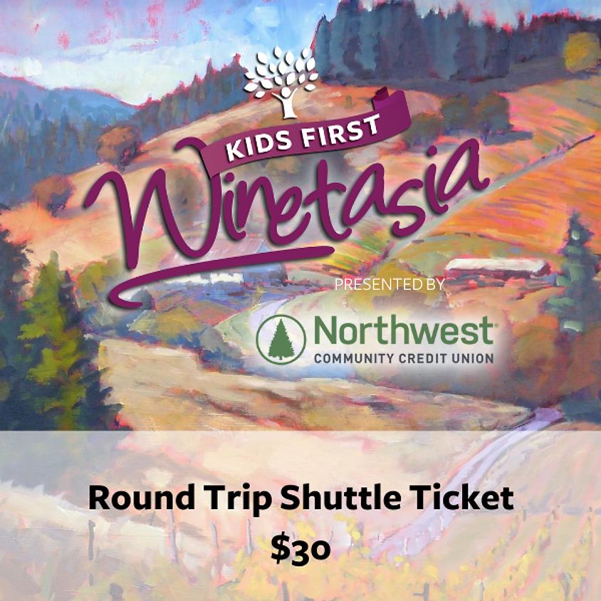Round Trip Shuttle Ticket