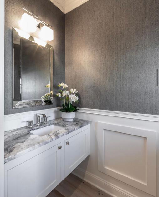 Bathroom Refresh: Powder Room