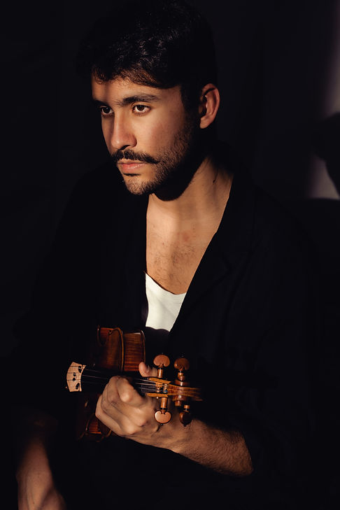 Javier Aguilar Berlin, a Violinist and Baroque Musician
