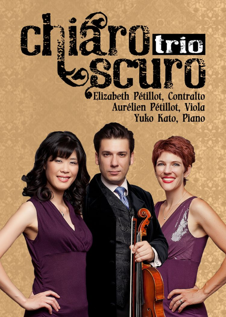 Press picture for Chiaroscuro Trio