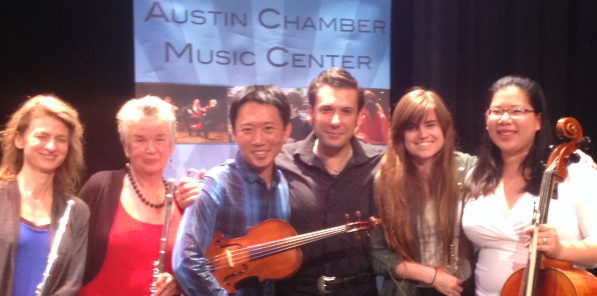 With adult chamber music students