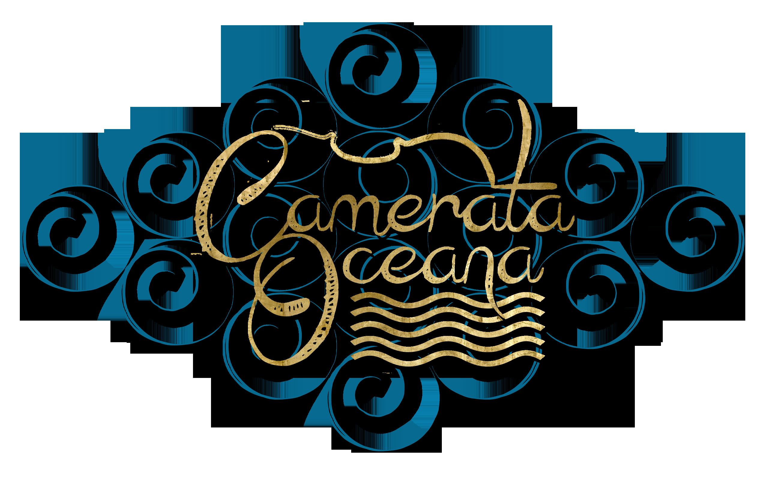 camerata oceana waves logo