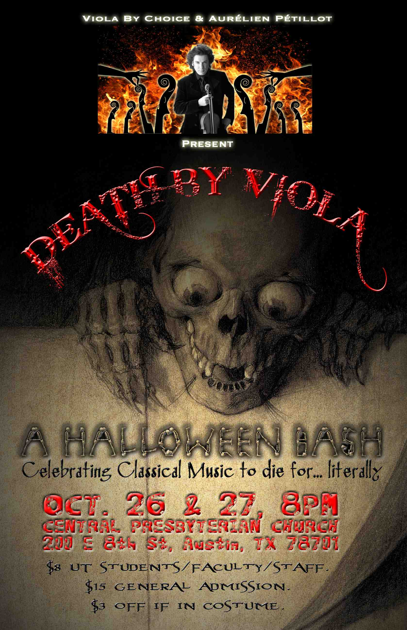 Death by Viola: A Halloween Bash