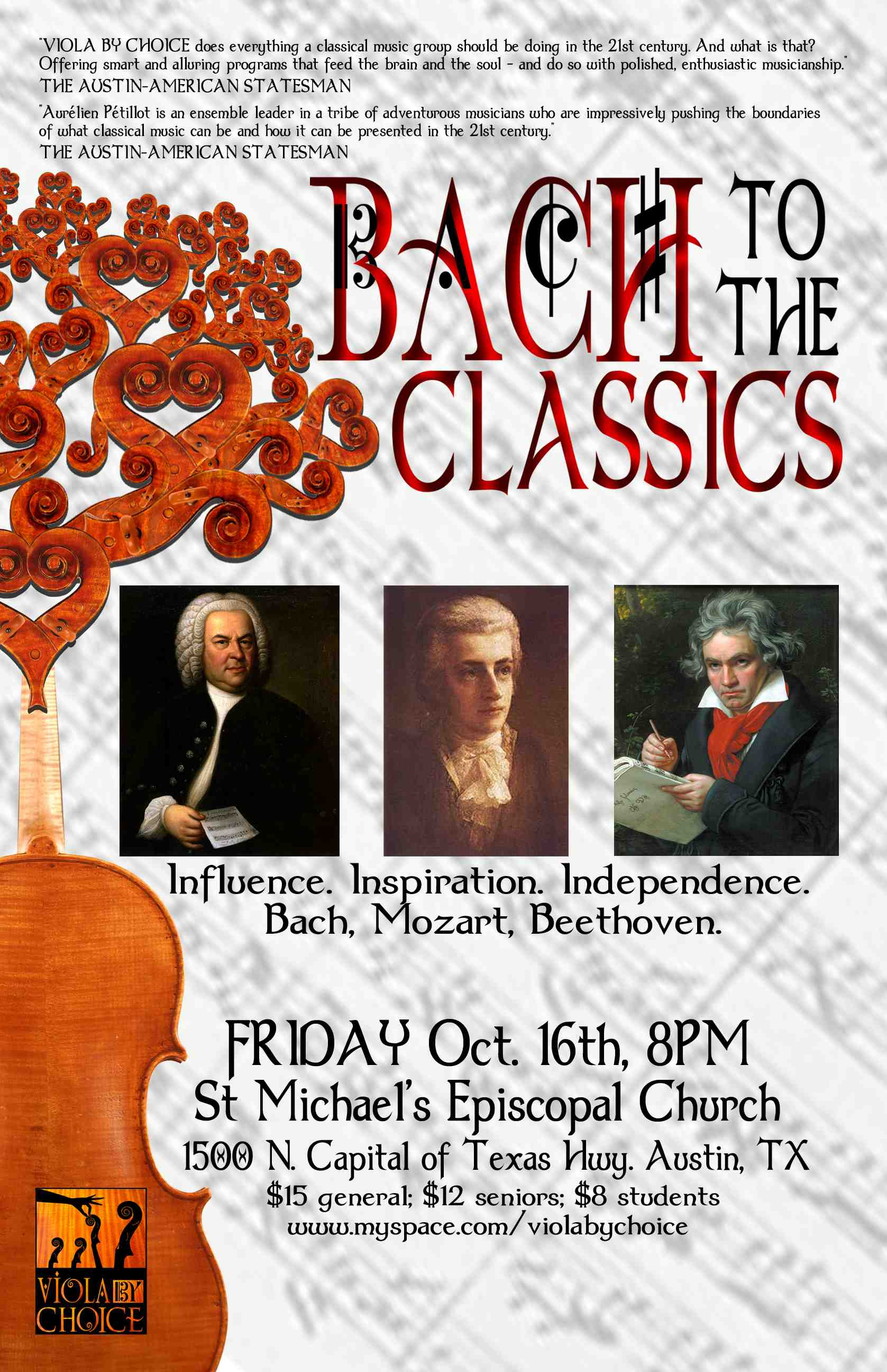 Bach to the Classics