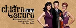Facebook cover for Chiaroscuro Trio