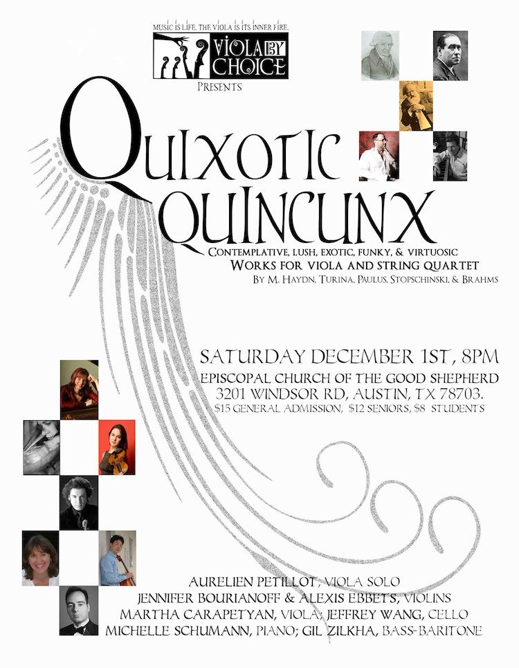Quixotic Quincunx