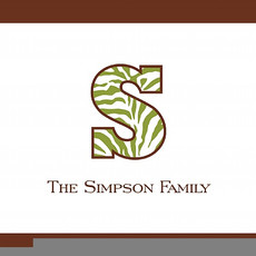 Brown & Green Family Stone