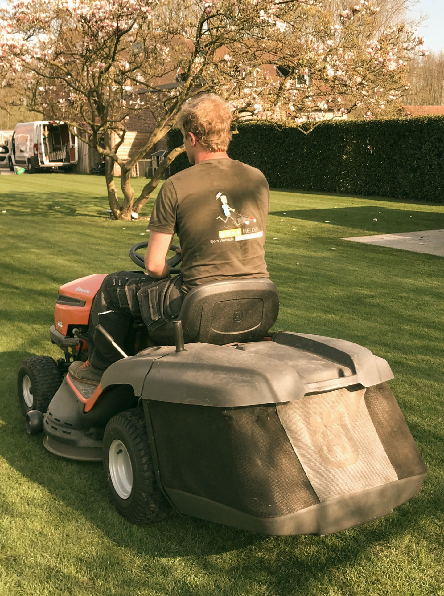 Bjorn grasmaaier