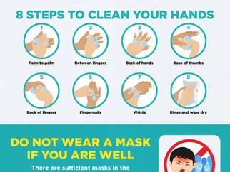 Practise good personal hygiene-COVID-19 (Coronavirus Disease 2019)