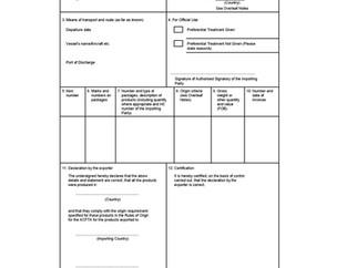 ASEAN-China Free Trade Certificate of Origin( Form E)