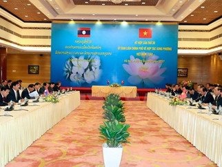 Lao media spotlights Vietnam-Laos committee meeting' success