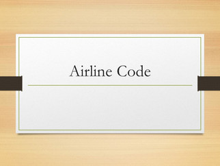 Airline Code