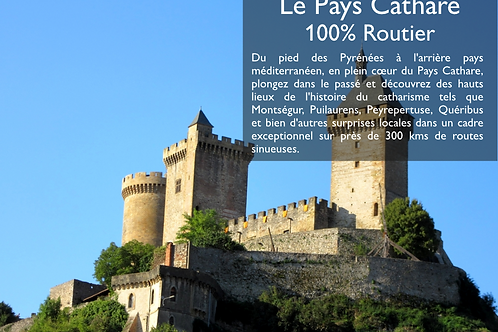 Guide n°7 : Le Pays Cathare 100% Routier