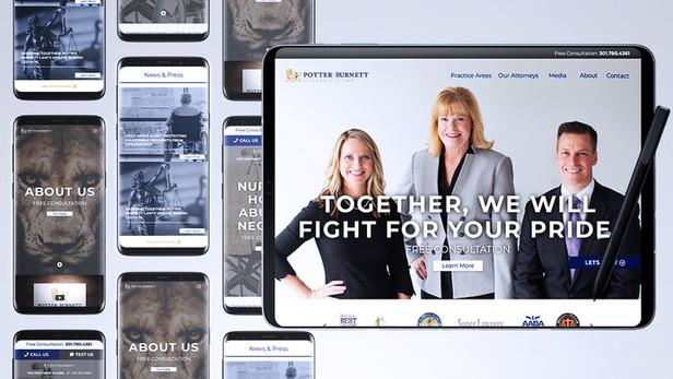 Potter Burnett Web Design