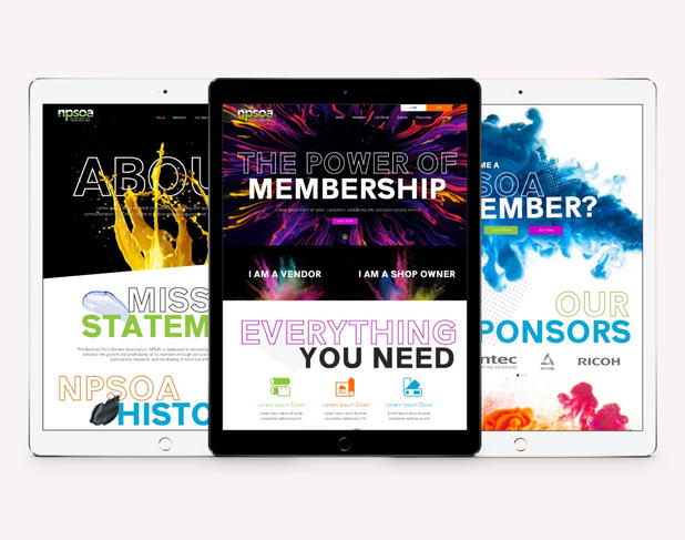 Graphic Designer at Liquified Creative Client: NPSOA
