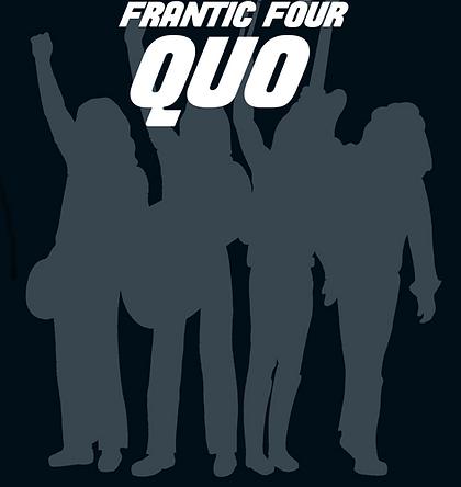 Status Quo Tribute Band Frantic Four Quo Logo
