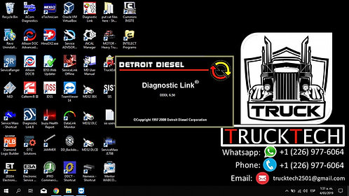 Detroit Diesel Diagnostic Link DDDL 6.50