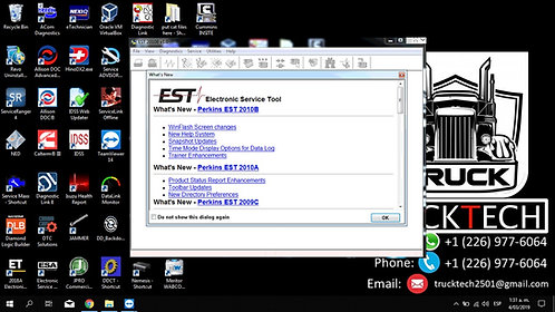 Electronic Service Tool 2010b v1.0