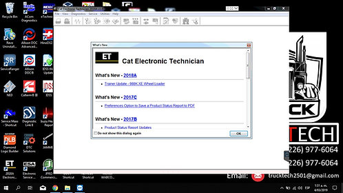 Cat Electronic Technician 2019C
