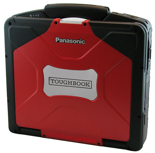 Toughbook Red