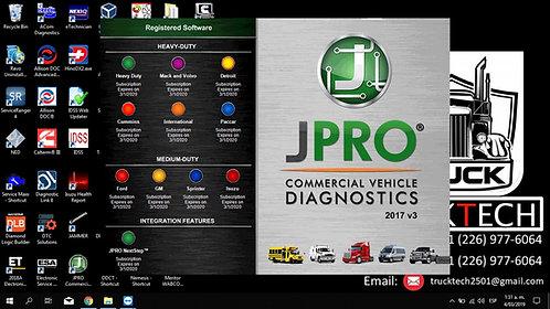 JPro Commercial Vehicle Diagnostic v3