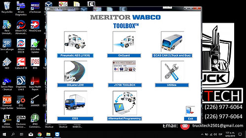 Meritor Wabco Toolbox v12.8