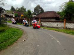 Through the villages