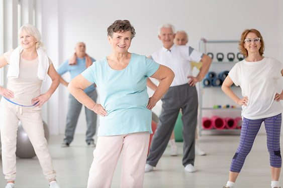 Group of happy seniors during sport's training at gym.jpg