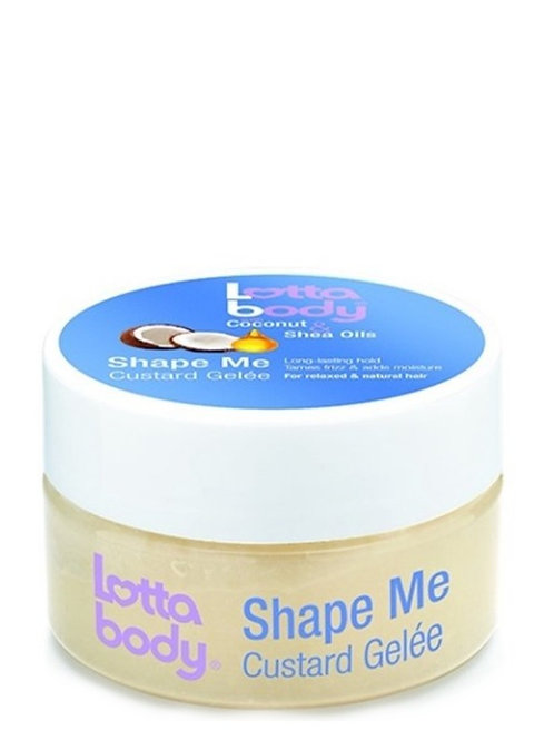 Lotta Body Coconut & Shea Oils Shape Me Custard Gelee
