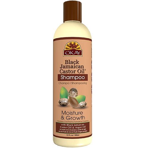 OKAY Black Jamacian Castor Oil Shampoo