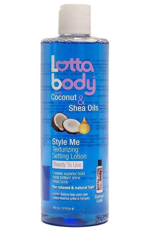 Lotta Body Coconut & Shea Oils Style Me Texturizing Setting Lotion