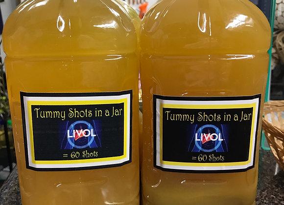 Tummy Shots in a Jar
