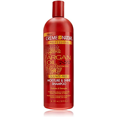 Creme of Nature Argan Oil/Morocco Moisture & Shine Shampoo Sul-Free