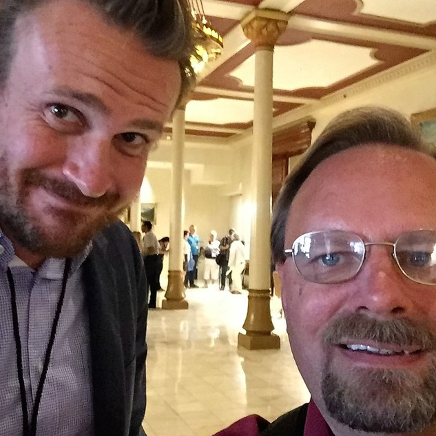 2016-10-14, with actor Jason Segel at th