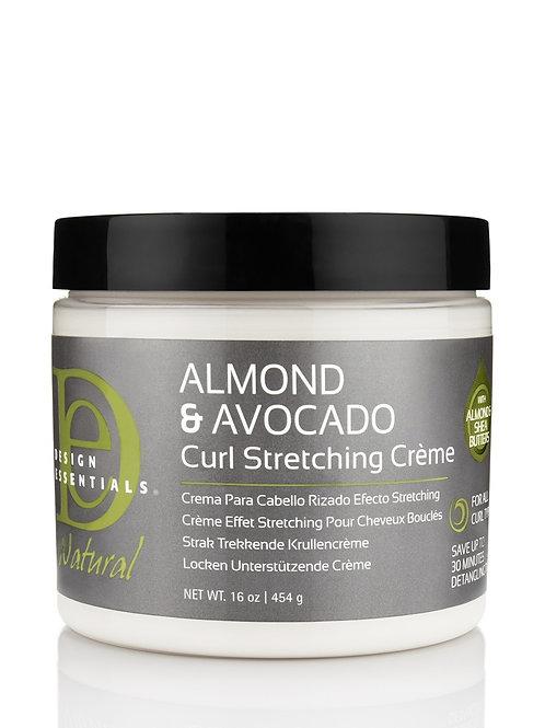 Design Essentials Almond & Avocado Curl Stretching Creme