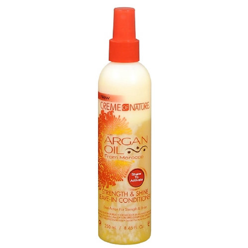 Creme of Nature Argan Oil/Morocco Strength & Shine Leave-in-Conditioner