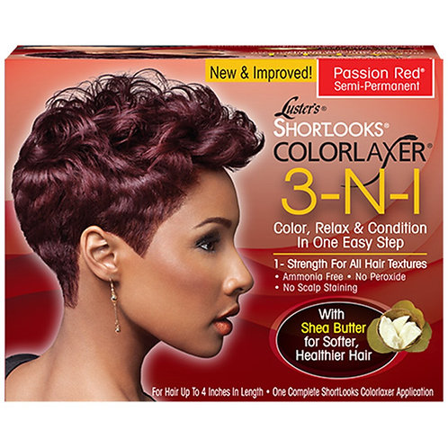 Luster's Shortlooks Colorrlaxer 3-N-1 Color,Relaxer